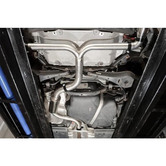 VW Scirocco R 2.0 TSI (09-18) Venom Box Delete Race Cat Back Performance Exhaust