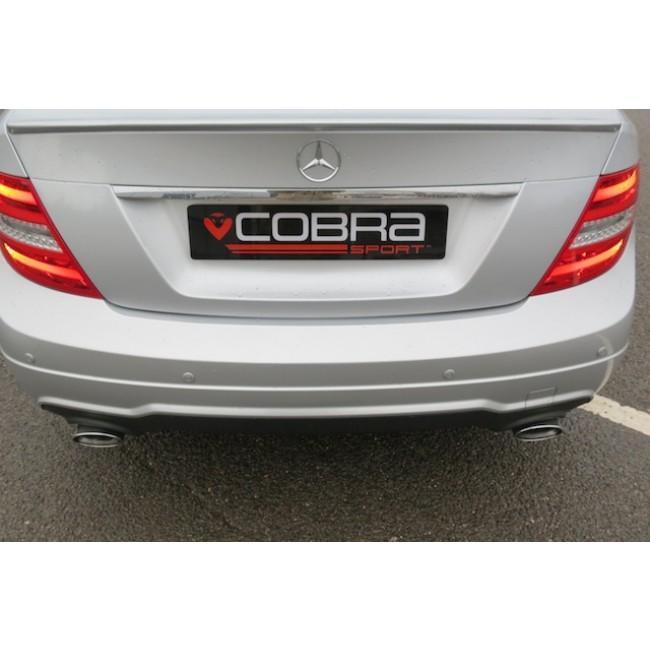 Mercedes W204 C200/C220/C250 (Diesel) 350 Dual Performance Exhaust