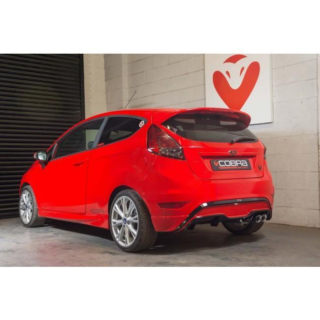 Ford Fiesta (MK7) ST180 Style 1L EcoBoost Catback Performance Exhaust