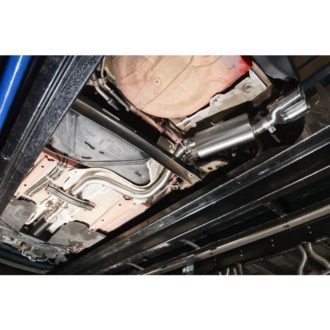Ford Fiesta (Mk7) 1L EcoBoost (Zetec S) Catback Performance Exhaust
