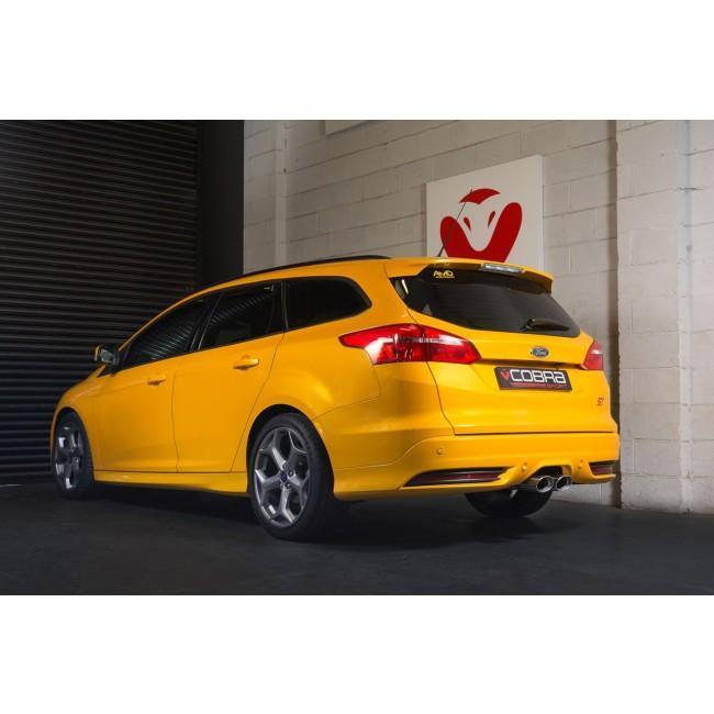 Ford Focus ST Estate (Mk3) (Wagon) Venom Box Delete Race Cat Back Performance Exhaust