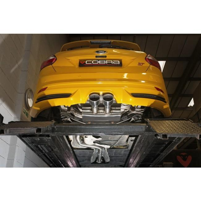 Ford Focus ST 250 (Mk3) Cat Back Performance Exhaust