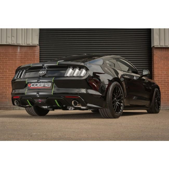 Ford Mustang 5.0 V8 GT (2015-18) Venom Box Delete Axle Back Performance Exhaust