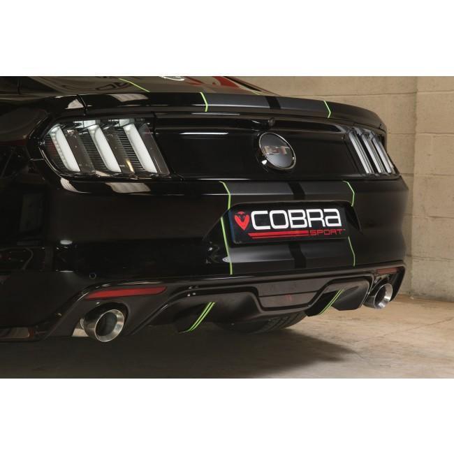 Ford Mustang 5.0 V8 GT Fastback (2015-18) Venom Box Delete Race Cat Back Performance Exhaust
