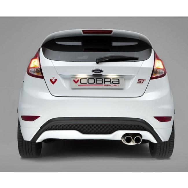 Ford Fiesta (Mk7) ST 180/200 Turbo Back Performance Exhaust