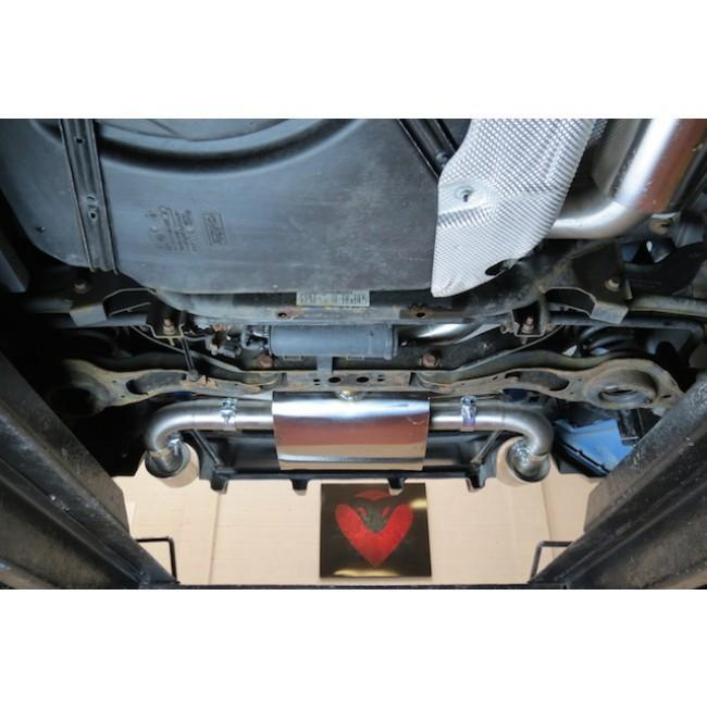 Ford Focus RS (Mk2) Cat Back Performance Exhaust