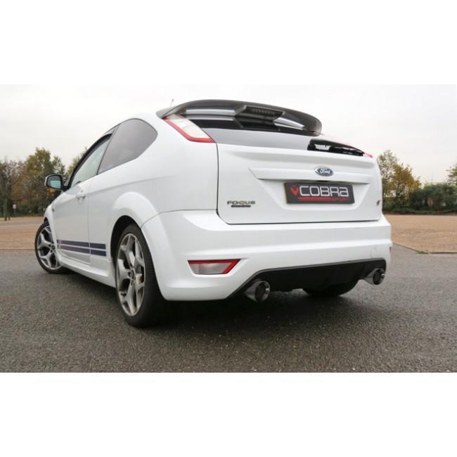Ford Focus ST 225 (Mk2) Venom Box Delete Cat Back Race Tube Performance Exhaust