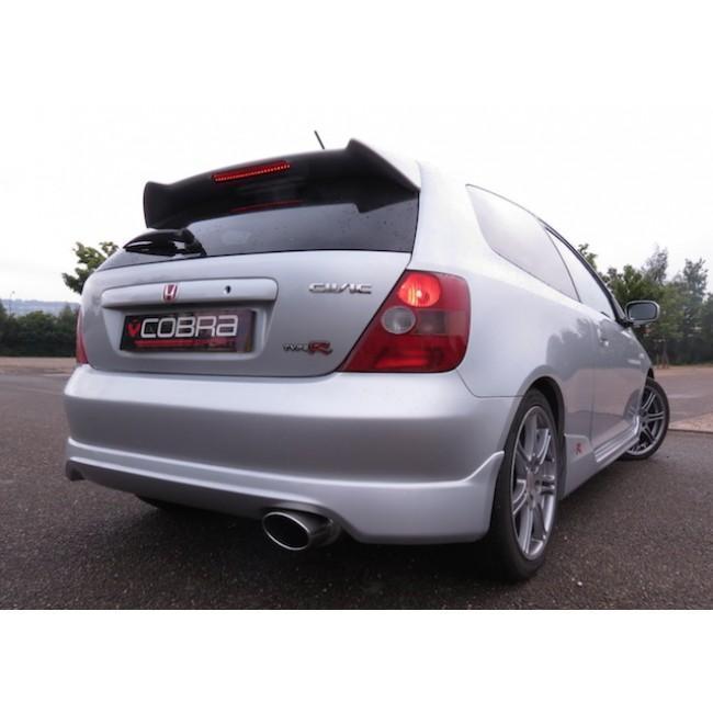 Honda Civic Type R (EP3) Performance Exhaust Rear Box