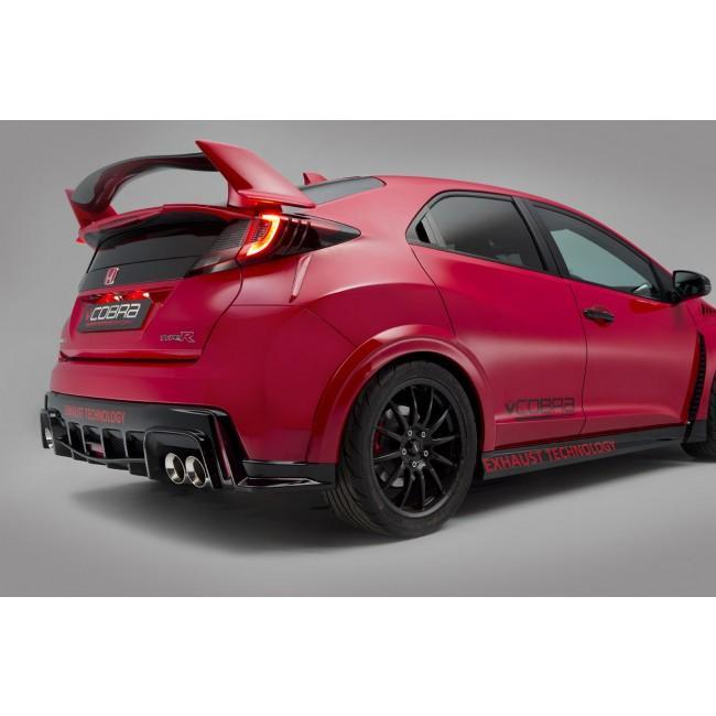 Honda Civic Type R (FK2) Cat Back Performance Exhaust