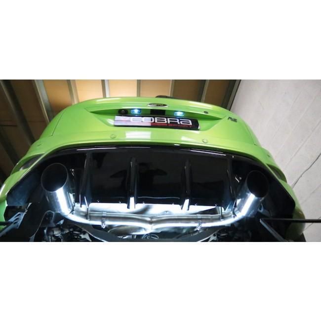Ford Focus RS (Mk2) Venom Box Delete Race Cat Back Performance Exhaust