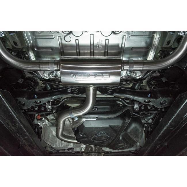 VW Golf GTI (MK7.5) 2.0 TSI (5G) (17>) Cat Back Performance Exhaust