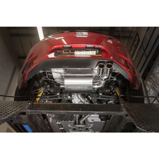 Mazda MX-5 (ND) Mk4 Cat Back Performance Exhaust