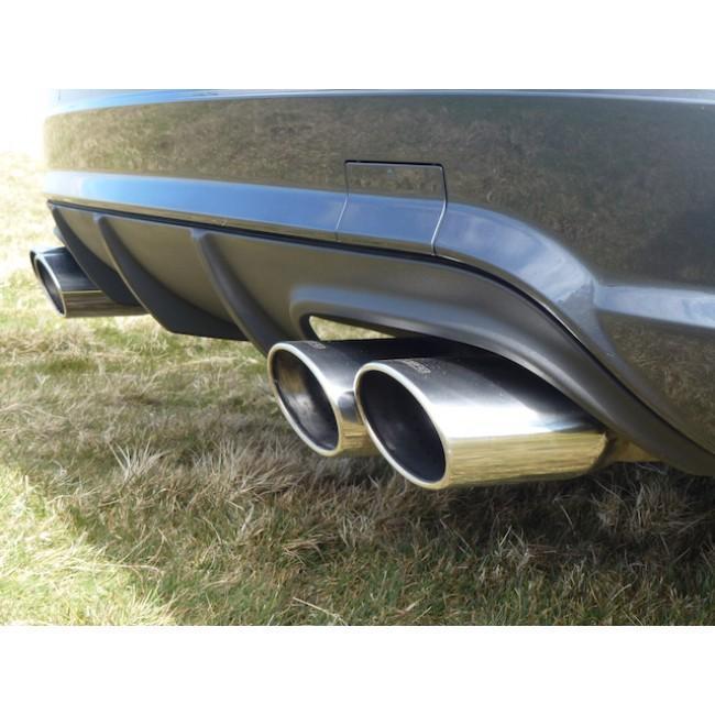 Mercedes W204 C180 (1.6 Litre Turbo Petrol) AMG Quad Performance Exhaust