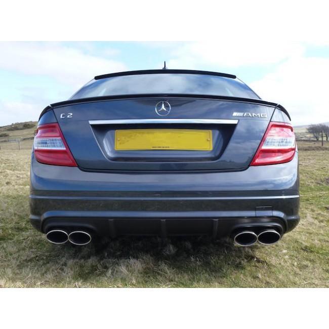 Mercedes W204 C200/C220/C250 (Diesel) AMG Quad Performance Exhaust
