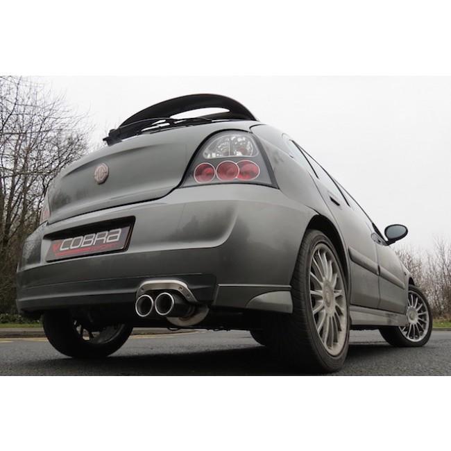 MG ZR 1.4 & 1.8 (105/120/160) Rear Box Performance Exhaust