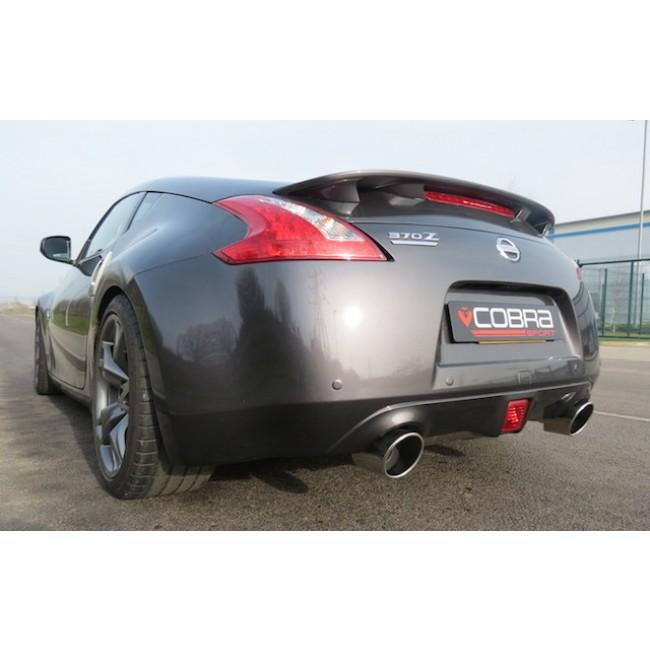 Nissan 370Z Cat Back Performance Exhaust (Y-Pipe| Centre and Rear Sections)