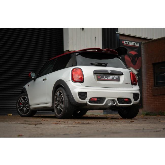 Mini (Mk3) JCW (F56) Resonator Delete Performance Exhaust*