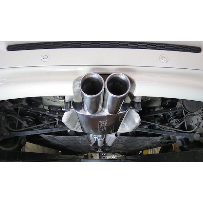 Mini (Mk2) Cooper S (R58) Coupe Cat Back Performance Exhaust