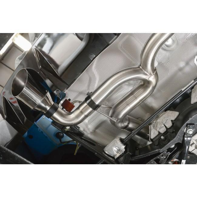 Ford Focus RS (MK3) Venom Box Delete Race Cat Back Performance Exhaust