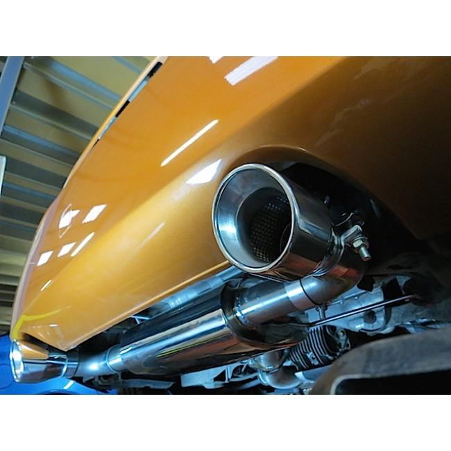 Nissan 350Z Centre and Rear Performance Exhaust