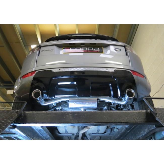 Range Rover Evoque (SD4 / TD4) Rear Box Performance Exhaust