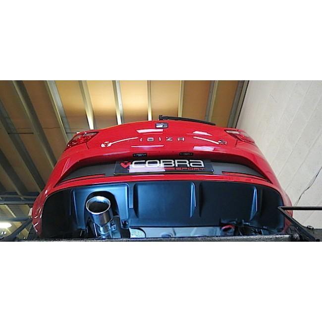 Seat Ibiza FR 1.4 TSI (10-14) Cat Back Performance Exhaust