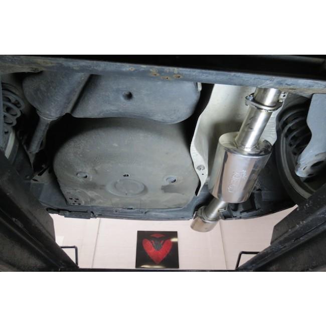 Seat Leon Cupra R Mk1 1M (02-05) Cat Back Performance Exhaust