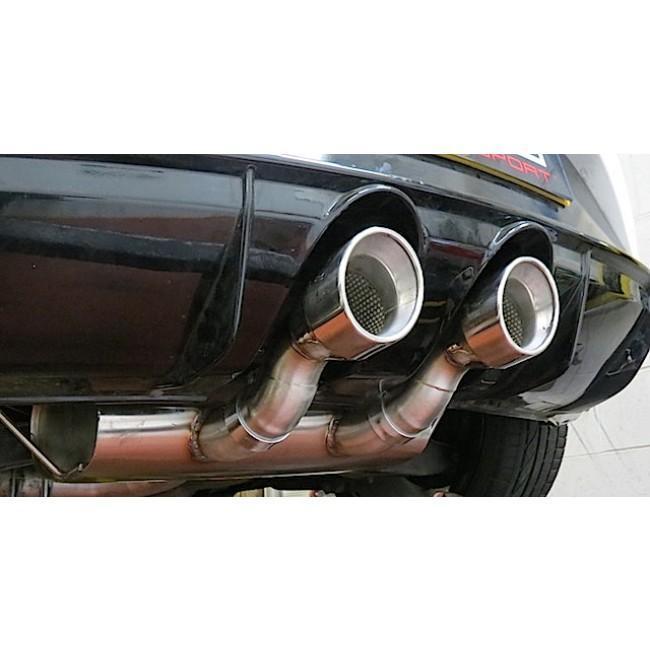 Seat Leon Cupra R Mk2 1P 2.0 T FSI (10-12) Cat Back Performance Exhaust