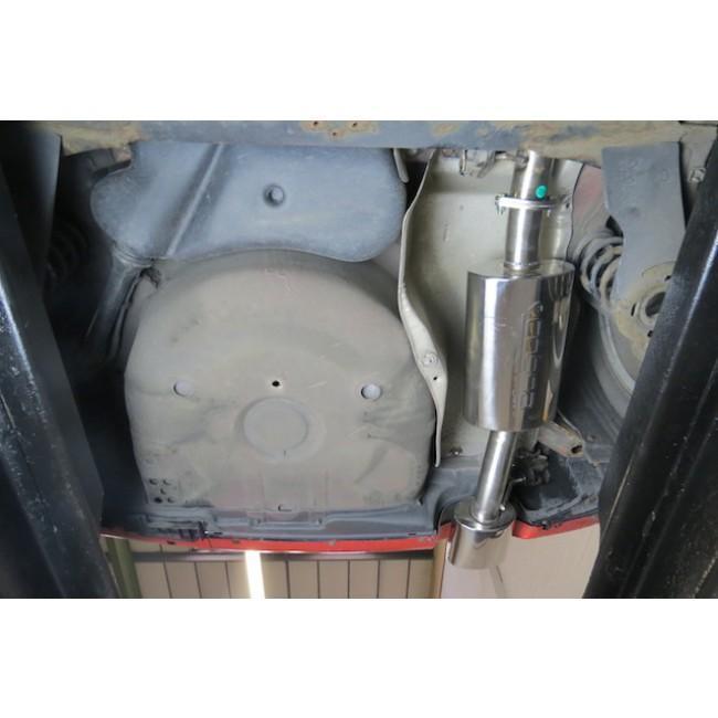 Seat Leon Cupra Mk1 1M 1.8 T 20V (99-05) Cat Back Performance Exhaust