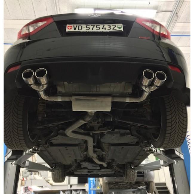 Subaru Impreza STI Turbo Hatchback (08-11) Cat Back Performance Exhaust