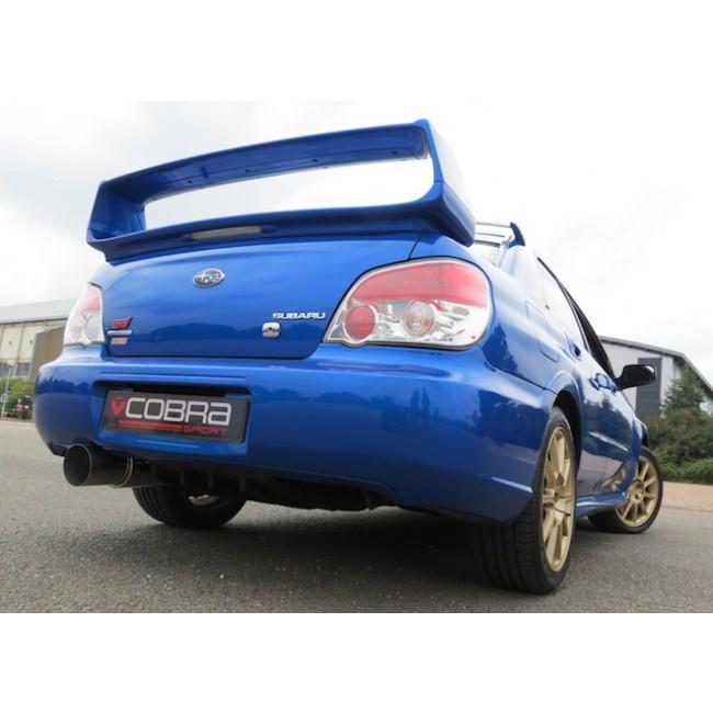"Subaru Impreza WRX/STI Turbo (01-07) 2.5"" Race Cat Back Performance Exhaust"