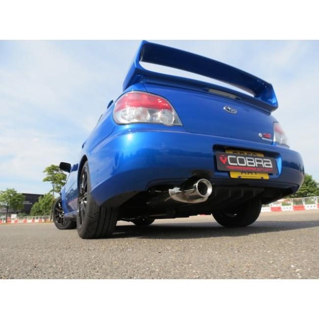 "Subaru Impreza Turbo (93-00) 3"" Track Cat Back Performance Exhaust"