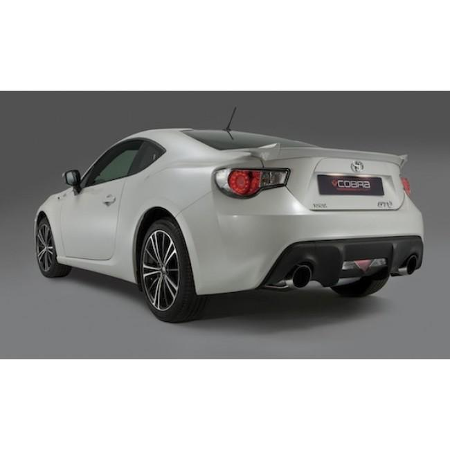 Subaru BRZ (12>) Cat Back Performance Exhaust