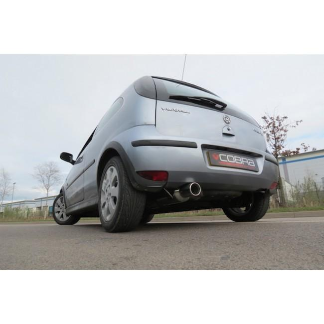 Vauxhall Corsa C 1.2 & 1.4 (00-06) Rear Box Performance Exhaust