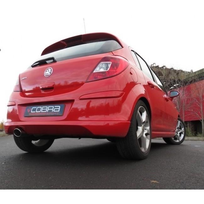 Vauxhall Corsa D 1.6 SRI (10-14) Turbo Back Performance Exhaust