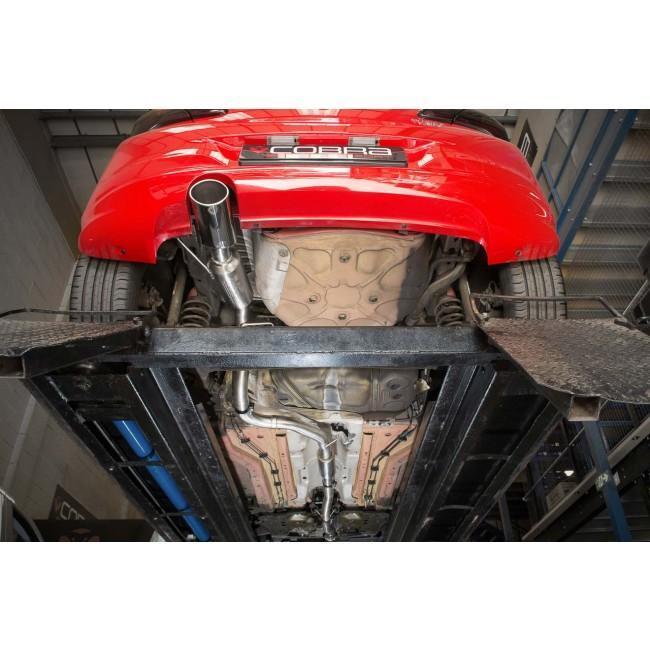 Vauxhall Corsa E 1.0 Turbo (15-19) Cat Back Performance Exhaust