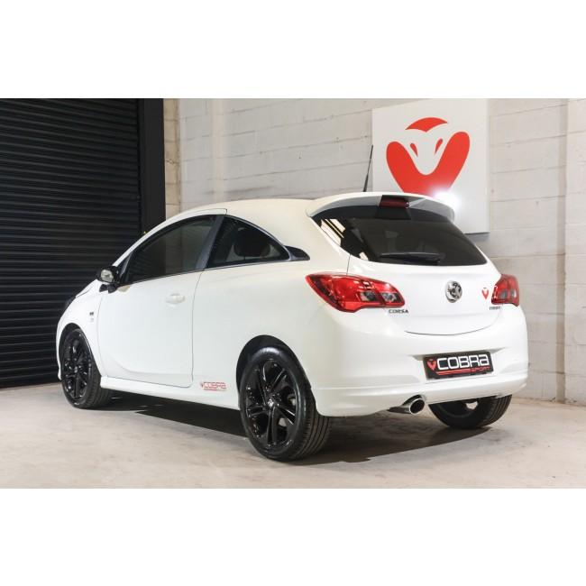 Vauxhall Corsa E 1.4 Turbo (15-19) Venom Box Delete Race Cat Back Performance Exhaust