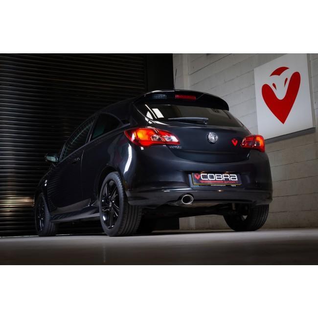 Vauxhall Corsa E 1.2 N/A (15-19) Venom Box Delete Rear Performance Exhaust
