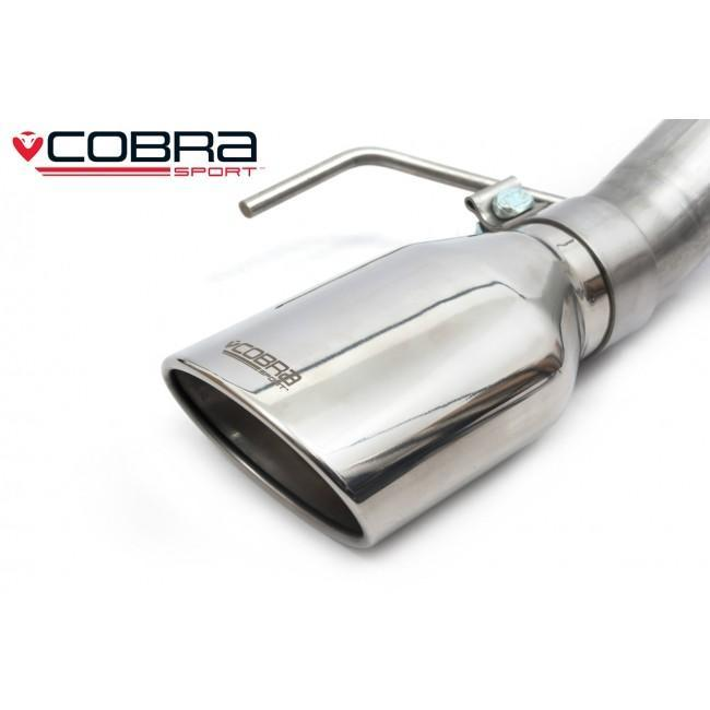 Vauxhall Corsa E 1.0 Turbo (15-19) Venom Box Delete Rear Performance Exhaust