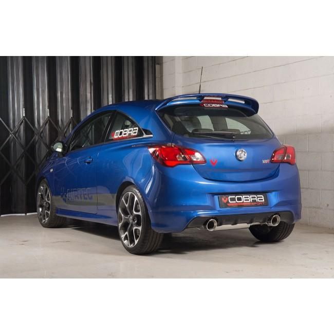 Vauxhall Corsa E VXR (15-18) Turbo Back Performance Exhaust