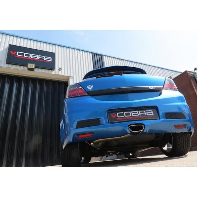 "Vauxhall Astra H VXR (05-11) 3"" Cat Back Performance Exhaust"