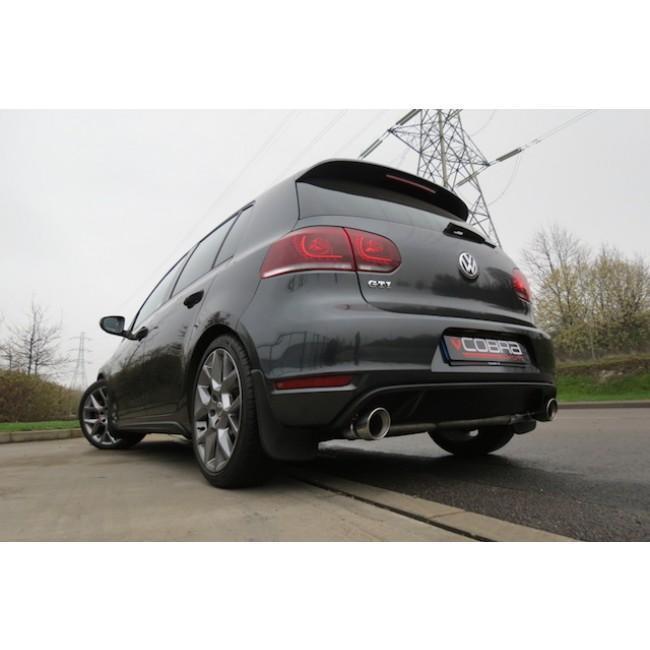 VW Golf GTI (MK6) 2.0 TSI (5K) (09-12) Venom Box Delete Race Turbo Back Performance Exhaust
