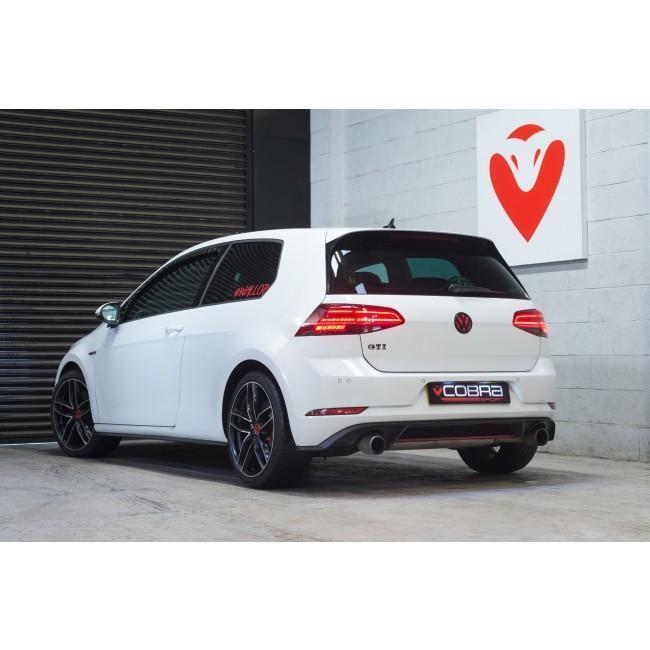 VW Golf GTI (Mk7.5) 2.0 TSI (5G) (17>) Resonator Delete Performance Exhaust