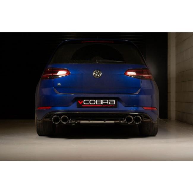 VW Golf R (Mk7.5) 2.0 TSI (5G) (18>) Cat Back Performance Exhaust