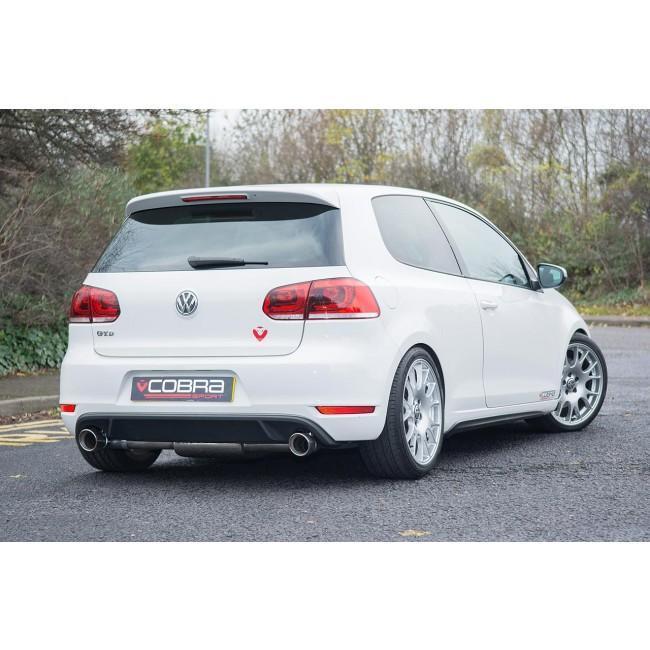 VW Golf GTD (Mk6) 2.0 TDI (5K) (09-13) GTI Style Cat Back Performance Exhaust