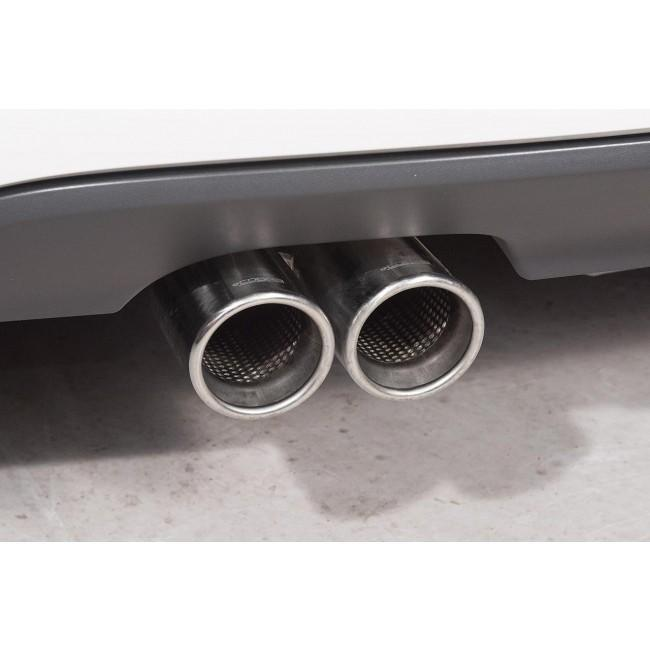 VW Golf GTD (Mk6) 2.0 TDI (5K) (09-13) Cat Back Performance Exhaust