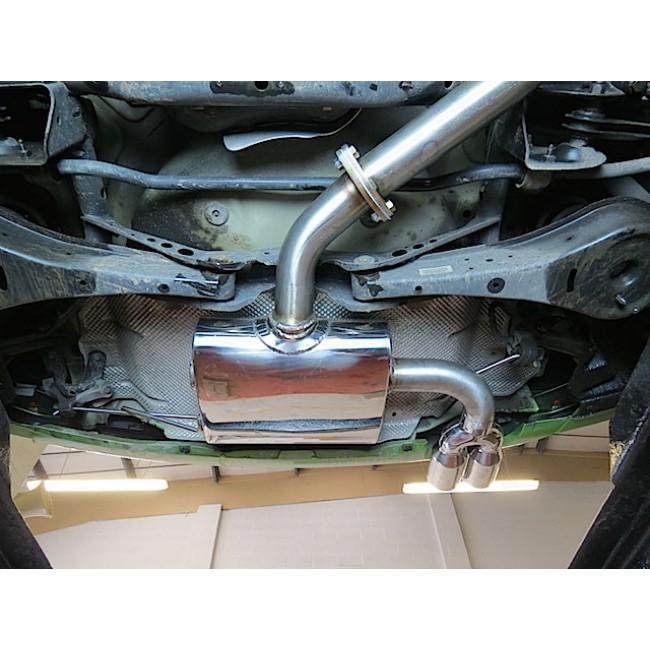 VW Scirocco GT 2.0 TDI (08-13) Cat Back Performance Exhaust