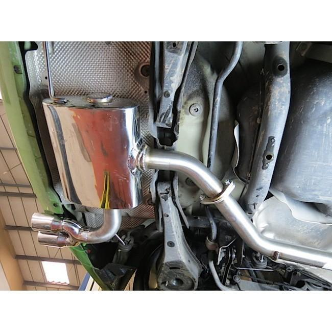 VW Scirocco GT 2.0 TSI (08-13) Cat Back Performance Exhaust