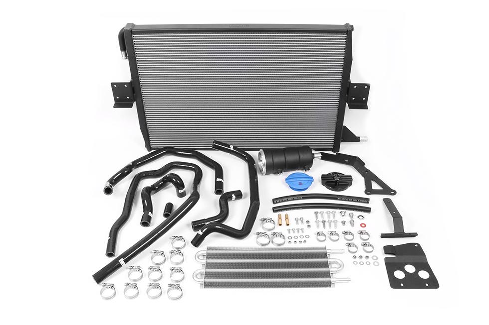 Audi S4 B8 and S5 B8 3.0 TFSI Charge Cooler Radiator and Expansion Tank kit