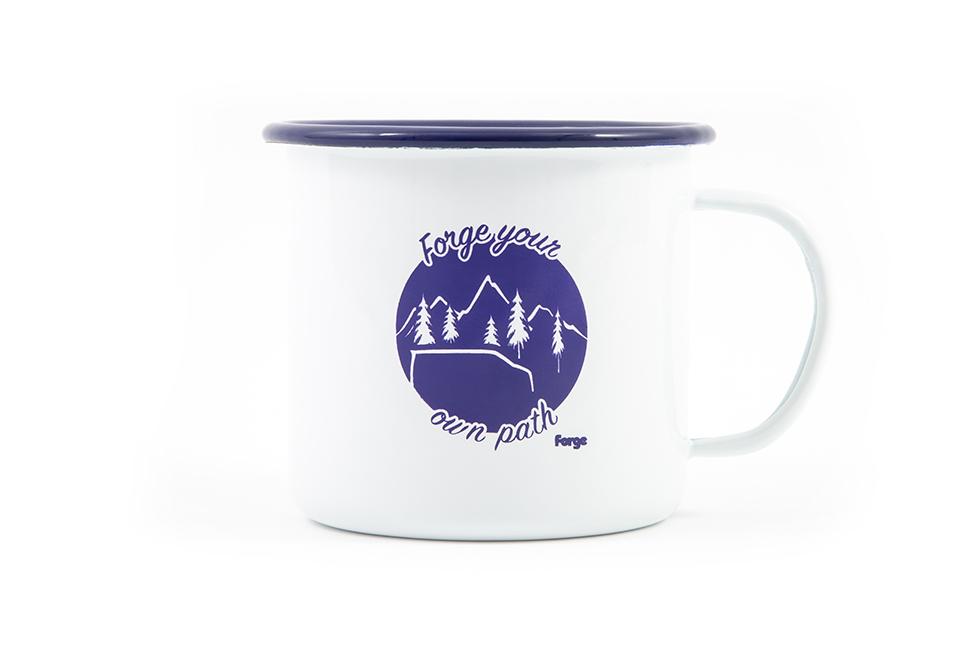 Forge Retro Enamel Camping Mug